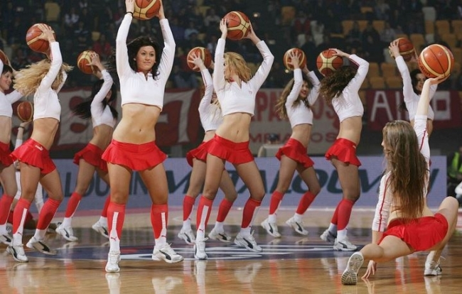 Τα καυτά κορίτσια του του Ολυμπιακού Πειραιώς